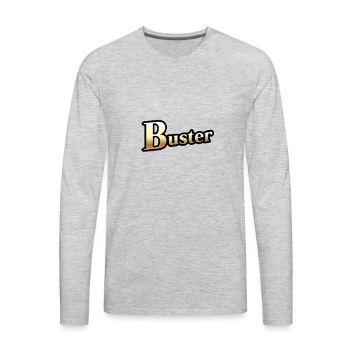 Buster Card - Men's Premium Long Sleeve T-Shirt