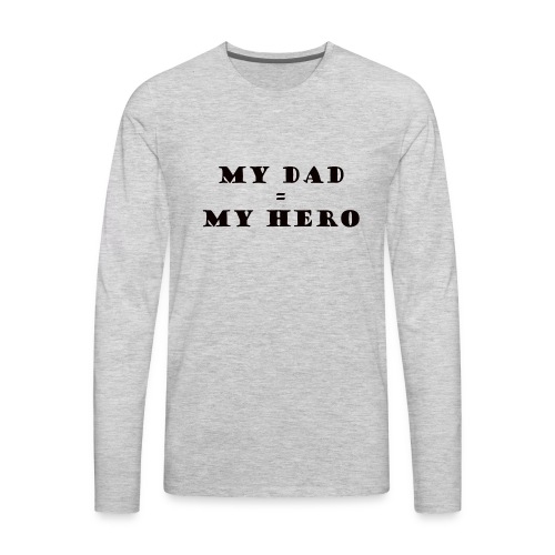 dad - Men's Premium Long Sleeve T-Shirt