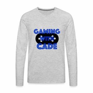 GamingWithCade Shop - Men's Premium Long Sleeve T-Shirt