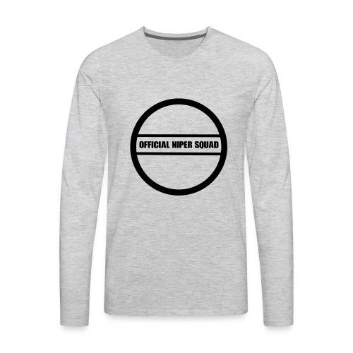 OfficialNipperSquad - Men's Premium Long Sleeve T-Shirt