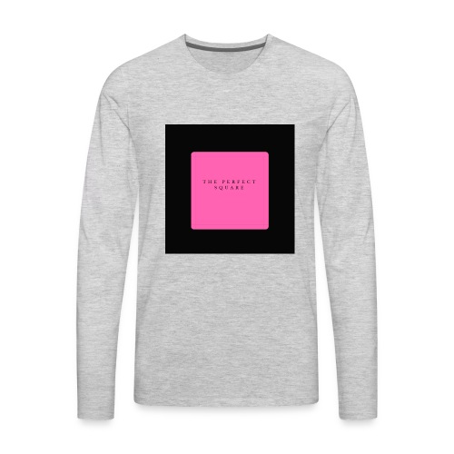 PLAIN JANE - Men's Premium Long Sleeve T-Shirt