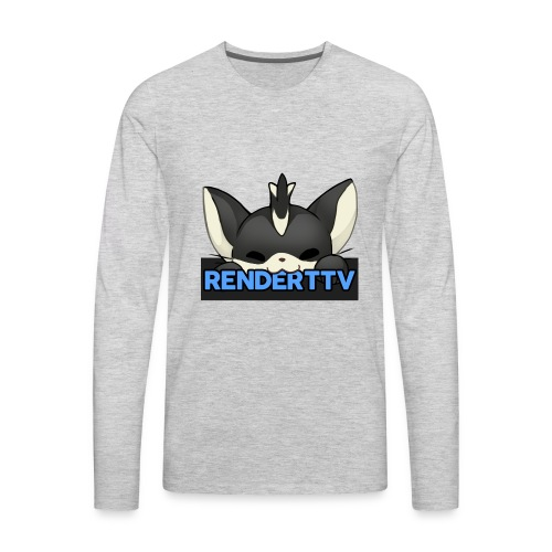 renderttv avatar - Men's Premium Long Sleeve T-Shirt