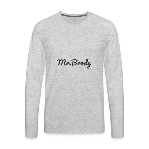 mr.brody d1 - Men's Premium Long Sleeve T-Shirt