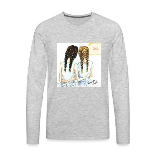 Braid bff's - Men's Premium Long Sleeve T-Shirt