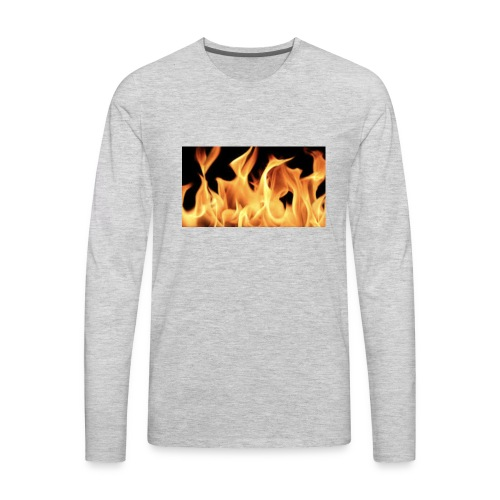 Flamin Ground - Men's Premium Long Sleeve T-Shirt
