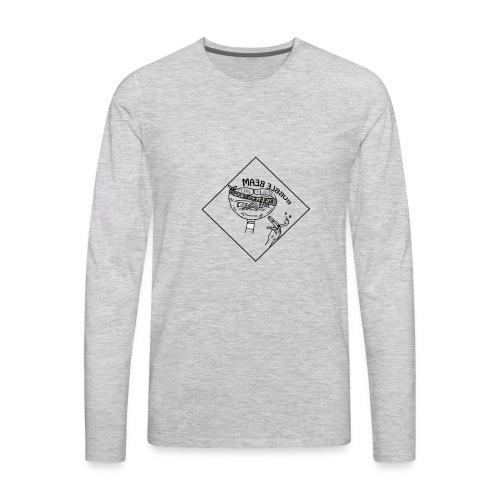 new bubble 2 - Men's Premium Long Sleeve T-Shirt