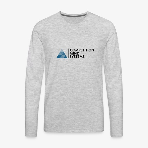 CMS Blue logo - Men's Premium Long Sleeve T-Shirt