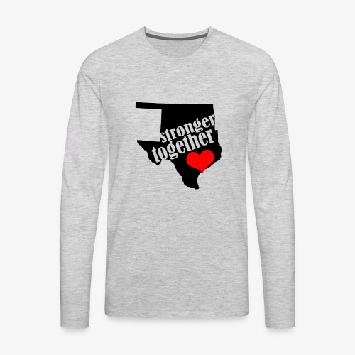 Oklahoma Strong   Stronger Together - Men's Premium Long Sleeve T-Shirt