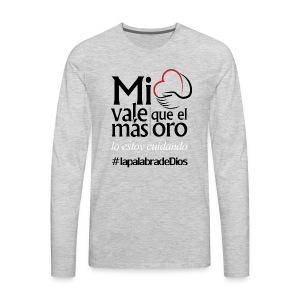 Cuida el Corazón - Men's Premium Long Sleeve T-Shirt