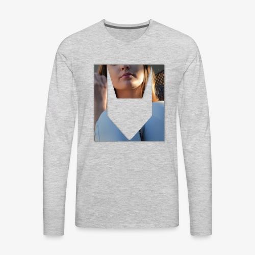 Caged Corgisauce - Men's Premium Long Sleeve T-Shirt