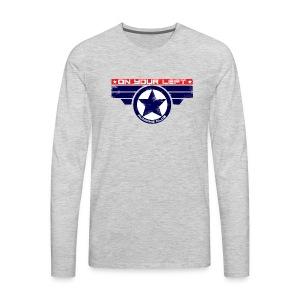 on your left - Men's Premium Long Sleeve T-Shirt
