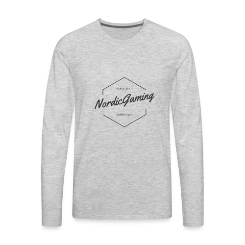 NordicGaming T-shirt - Men's Premium Long Sleeve T-Shirt