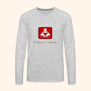 Education your life - Men's Premium Long Sleeve T-Shirt