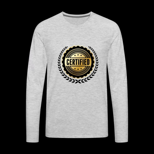 Block certified - Men's Premium Long Sleeve T-Shirt