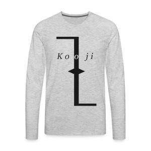 Kooji - T-shirt Premium à manches longues pour hommes