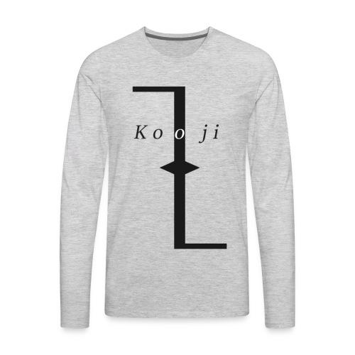 Kooji - Men's Premium Long Sleeve T-Shirt