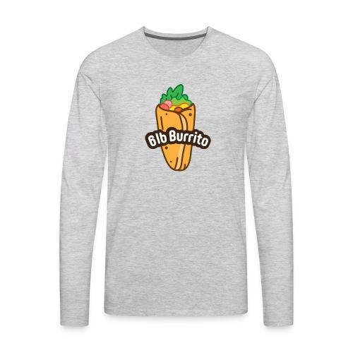 Burrito Logo - Men's Premium Long Sleeve T-Shirt