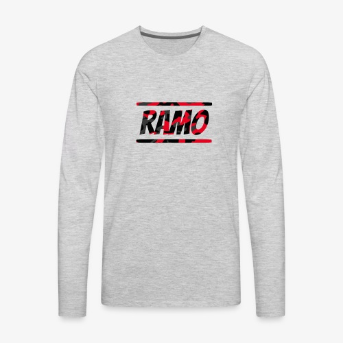 Ramo Red Camo - Men's Premium Long Sleeve T-Shirt