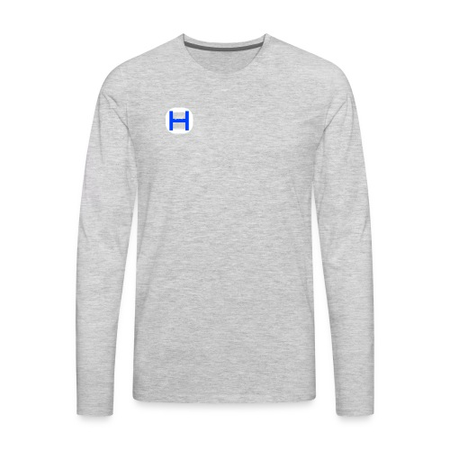 Otterhiphop Logo - Men's Premium Long Sleeve T-Shirt