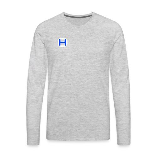 Otterhiphop Logo - Men's Premium Long Sleeve T-Shirt
