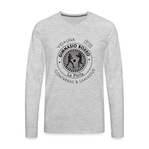Gimnasio de Boxeo La Perla - Men's Premium Long Sleeve T-Shirt