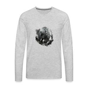 Vintage Reel Shirt - Men's Premium Long Sleeve T-Shirt