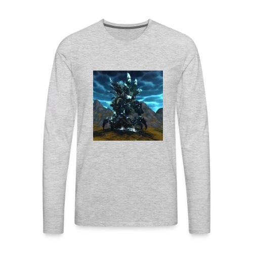 sha of anger wow - Men's Premium Long Sleeve T-Shirt