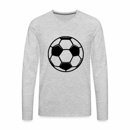 soccer zai - Men's Premium Long Sleeve T-Shirt