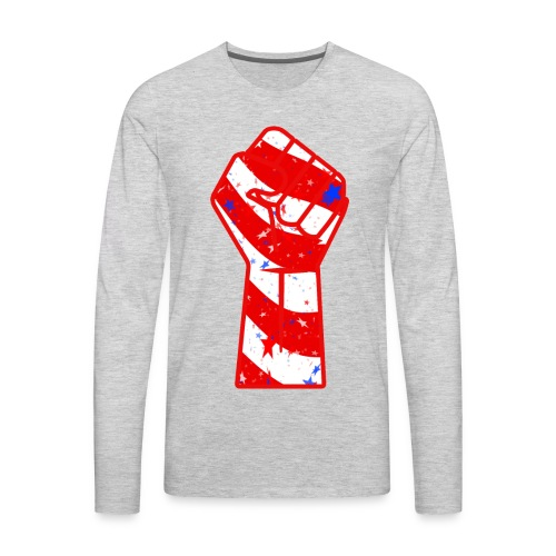 4th of July spreed shirt the independence day red - Men's Premium Long Sleeve T-Shirt