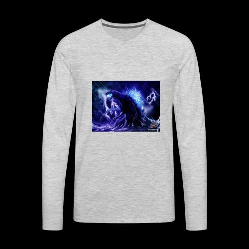 godzilla - Men's Premium Long Sleeve T-Shirt