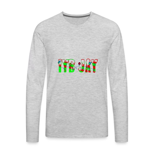 IYB JAY XMAS LOGO - Men's Premium Long Sleeve T-Shirt