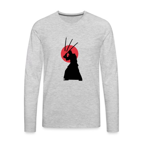 Samurai Light - Men's Premium Long Sleeve T-Shirt
