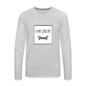 Be Yourself - Men's Premium Long Sleeve T-Shirt