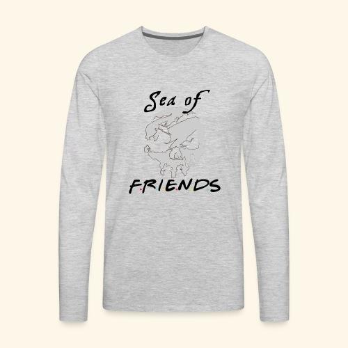 Sea of Friends - Men's Premium Long Sleeve T-Shirt