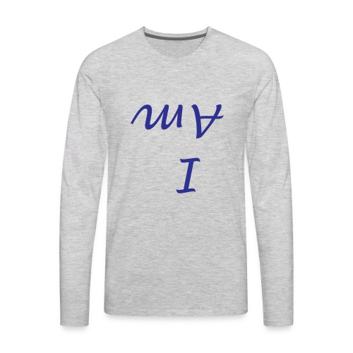 I Am - Personal Mindfulness T-Shirt - Men's Premium Long Sleeve T-Shirt