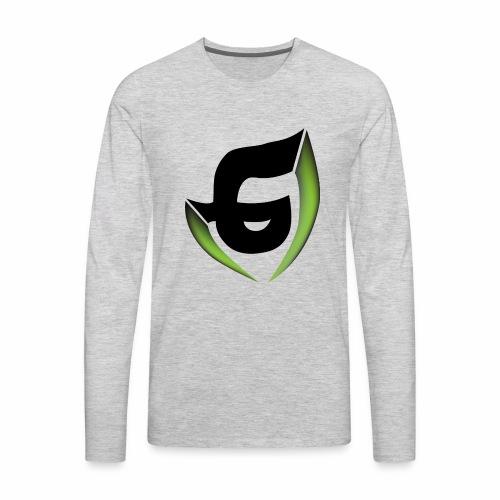 Plain logo - Men's Premium Long Sleeve T-Shirt