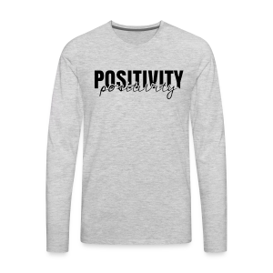 'Positivity' Collection - Men's Premium Long Sleeve T-Shirt