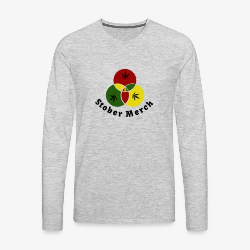 Rasta Stober Merch - Men's Premium Long Sleeve T-Shirt