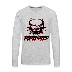 rarebreed pit - Men's Premium Long Sleeve T-Shirt