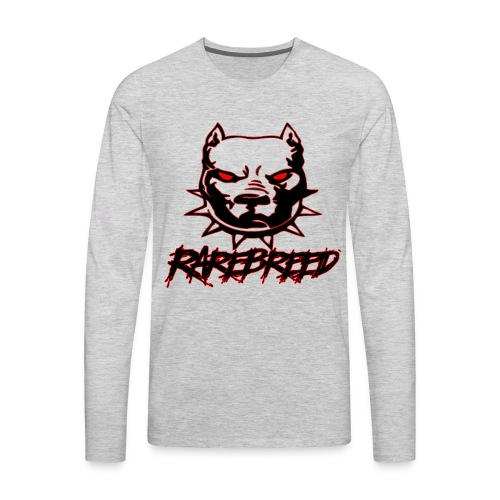 rarebreed pit - Men's Premium Long Sleeve T-Shirt