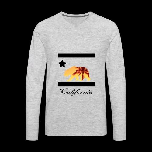 estampa carlifornia 2 - Men's Premium Long Sleeve T-Shirt
