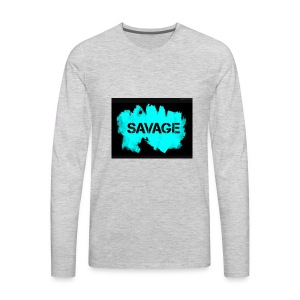 Savage merchandise - Men's Premium Long Sleeve T-Shirt