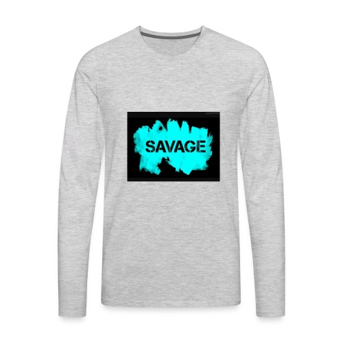 Savage merchandise - Men's Premium Long Sleeve T-Shirt