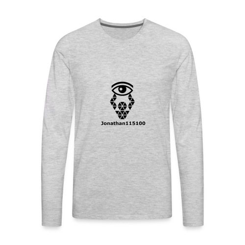 Channel Name And Logo - Men's Premium Long Sleeve T-Shirt