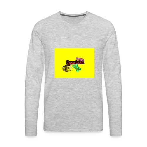 Gamer coolest - Men's Premium Long Sleeve T-Shirt