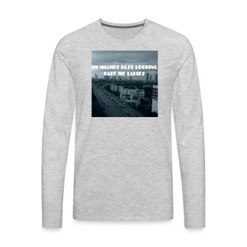 MIAMI'S BEST LOOKING - Men's Premium Long Sleeve T-Shirt