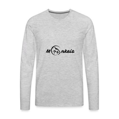 fitness black logo limited edition - Men's Premium Long Sleeve T-Shirt