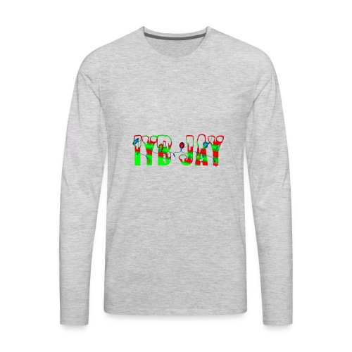 IYB JAY XMAS LOGO - Men's Premium Long Sleeve T-Shirt