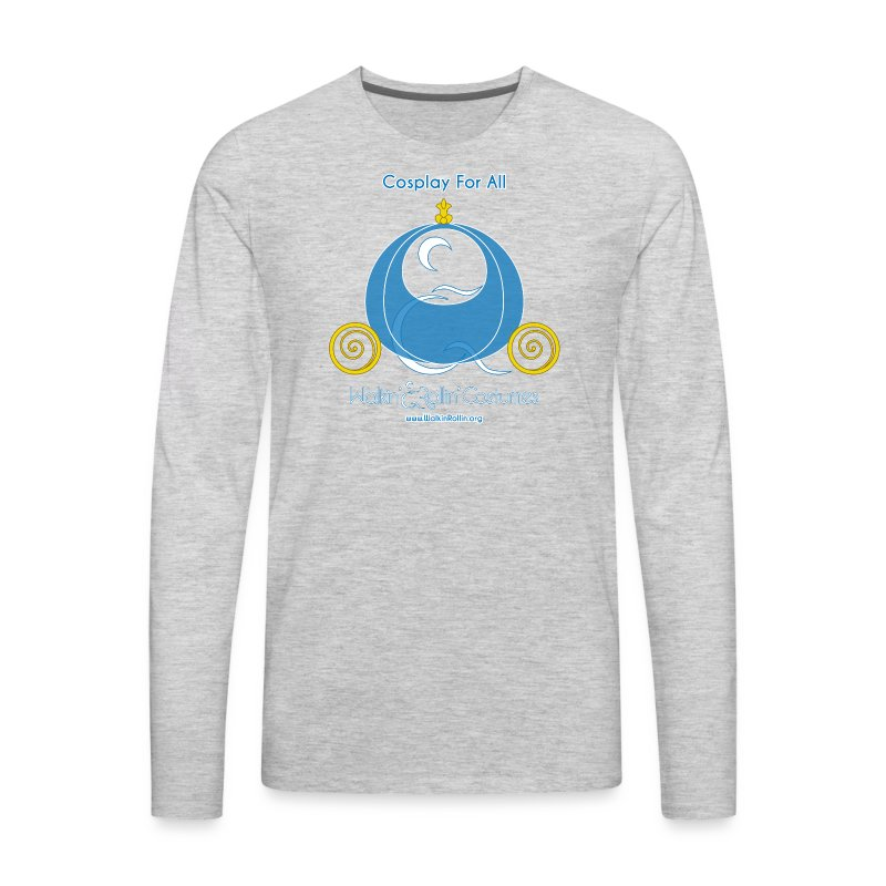 Cosplay For All: Cinderella - Men's Premium Long Sleeve T-Shirt