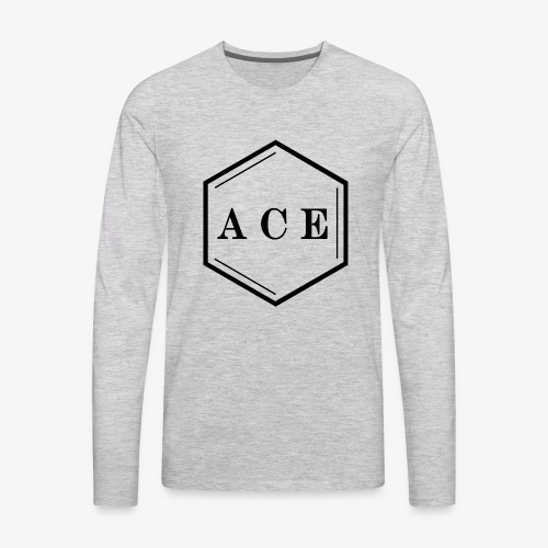 ACE Logo - Men's Premium Long Sleeve T-Shirt